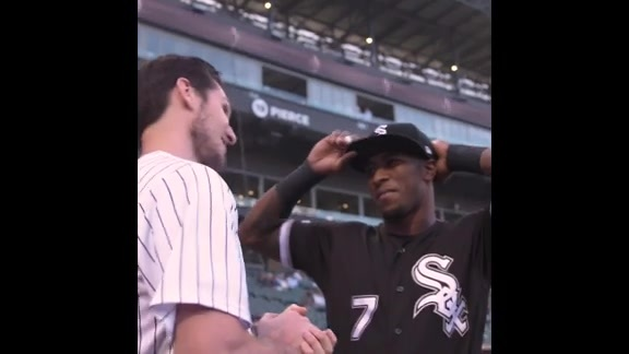 Ryan Arcidiacono mic'd up: White Sox first pitch