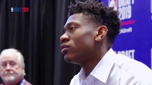 2019 NBA Draft: De'Andre Hunter speaks to the media