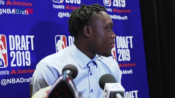 2019 NBA Draft: Sekou Doumbouya speaks to the media