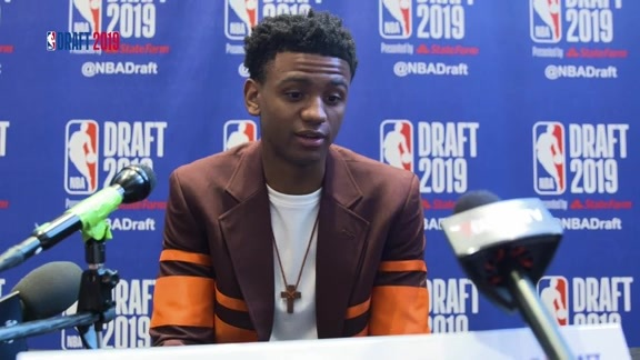 2019 NBA Draft: Nickeil Alexander-Walker speaks to the media