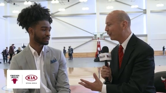 BullsTV Interview: Coby White - 6.24