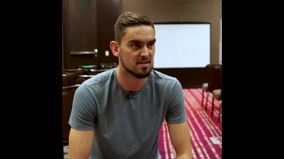 Tomas Satoransky talks with BullsTV