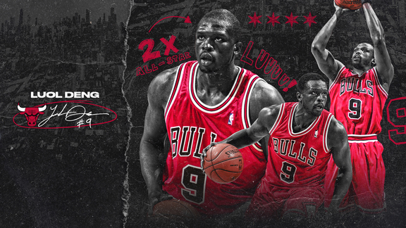A look back at Luol Deng's career as a Chicago Bull