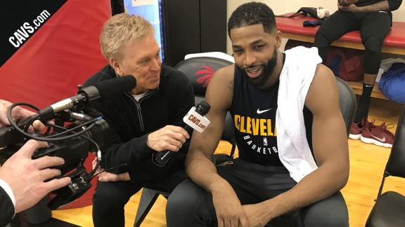 Cavs.com 1-on-1 with Tristan Thompson