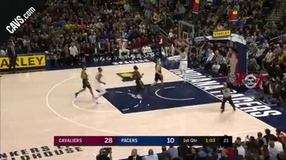 Cedi Osman with the Fast Break Flush