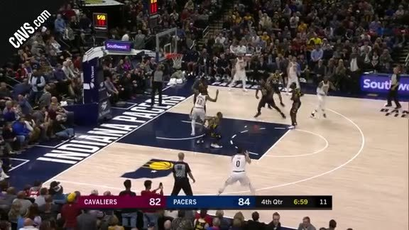Cavs Go On 7-0 Run to Regain the Lead