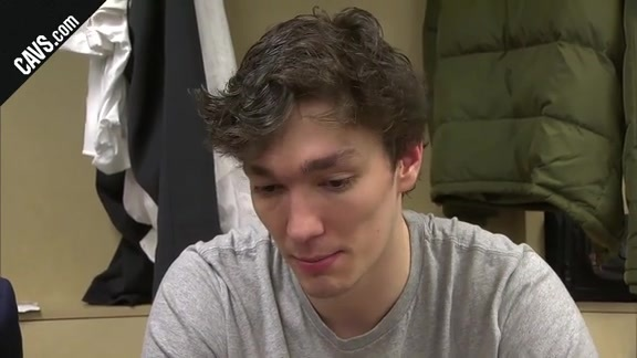 #CavsPacers Postgame: Cedi Osman - January 12, 2018