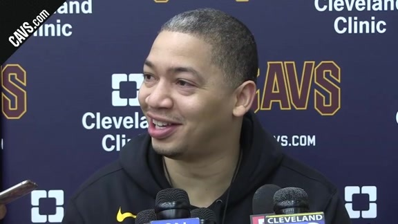Practice: Coach Lue - January 14, 2018