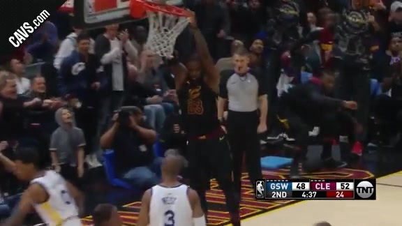 Featured Highlight: IT Tosses Pretty Oop to LBJ