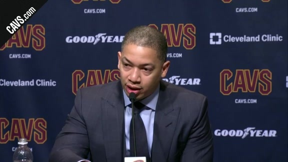 #CavsWarriors Postgame: Coach Lue - January 15, 2018