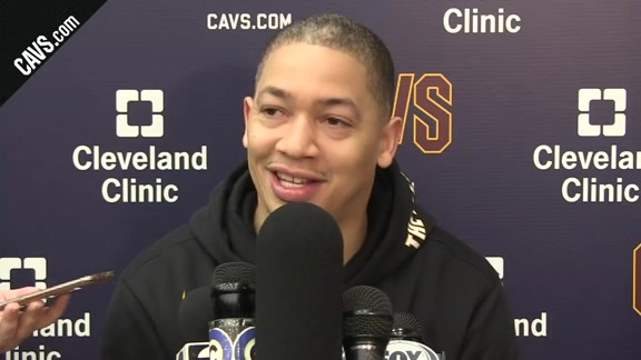 Practice: Coach Lue - January 17, 2018