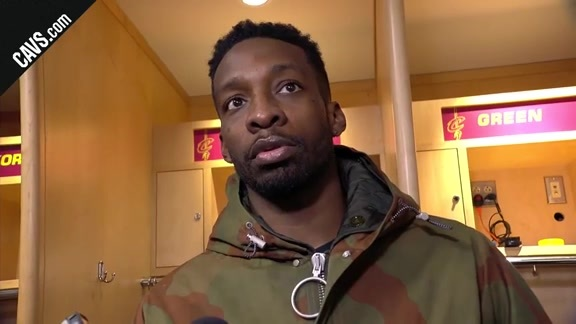 #CavsMagic Postgame: Jeff Green - January 18, 2018