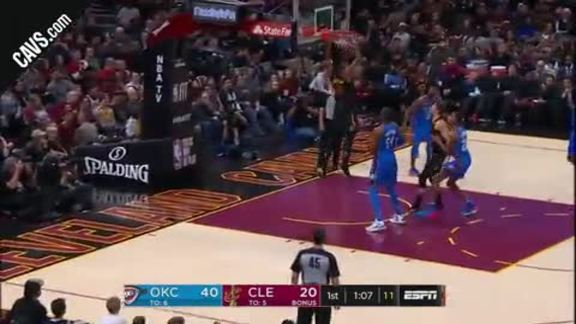 Featured Highlight: LBJ Lobs Tristan