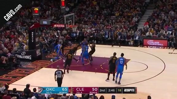 DWade with the Tough And-One