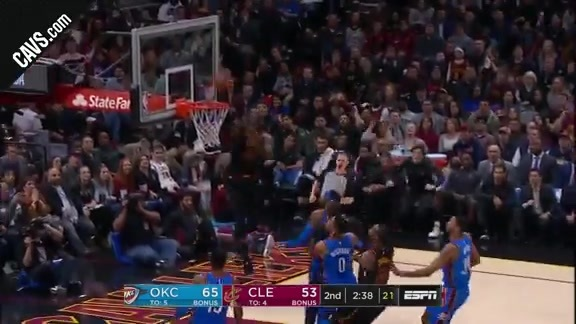 Featured Highlight: DWade Lobs LBJ