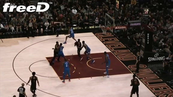 Highlight in freeD: DWade with the Jumper