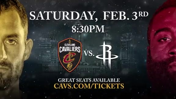 Cavs Host Rockets in Marquee Matchup