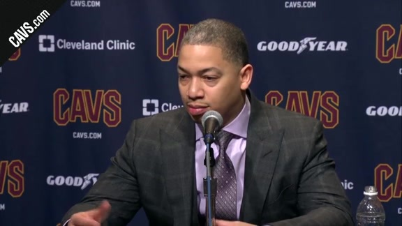 #CavsThunder Postgame: Coach Lue - January 20, 2018