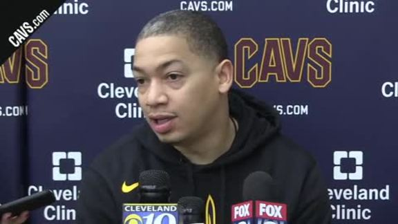 Practice: Coach Lue - January 21, 2018