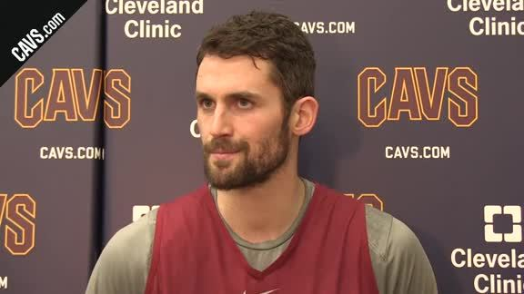 Practice: Kevin Love – January 22, 2018