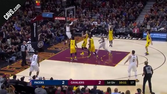 Featured Highlight: LBJ with the Reverse Flush