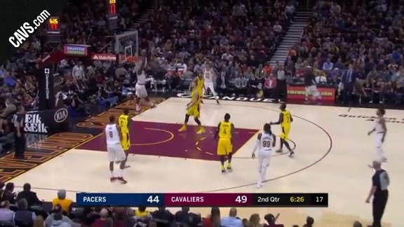 DRose Finds Jeff Green on the High-Handoff