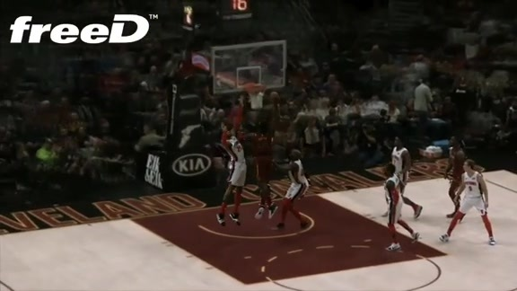 Highlight in freeD: Green Throws it Down