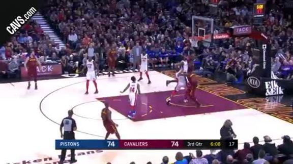LBJ with the Hoop and the Harm