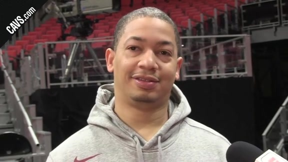 #CavsPistons Shootaround: Coach Lue - January 30, 2018