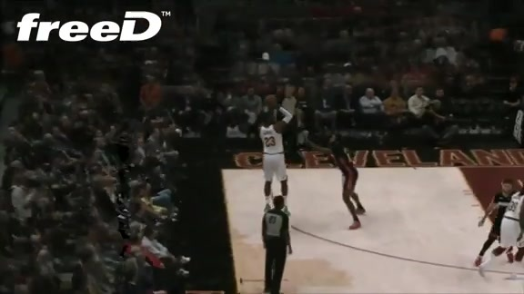 Highlight in freeD: LBJ Hits from Deep
