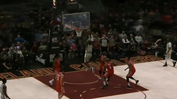 Highlight in freeD: LBJ Buries Dunk