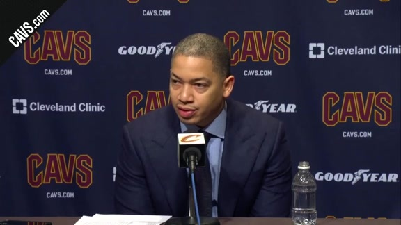 #CavsRockets Postgame: Coach Lue - February 3, 2018
