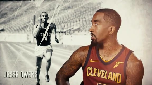 Cavs React to Famous Barrier-Breaking Athletes