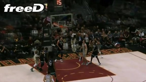 Highlight in freeD: Green Throws Down