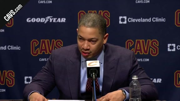 #CavsWolves Postgame: Coach Lue - February 7, 2018