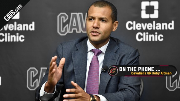 Cavaliers GM Koby Altman Talks Trades