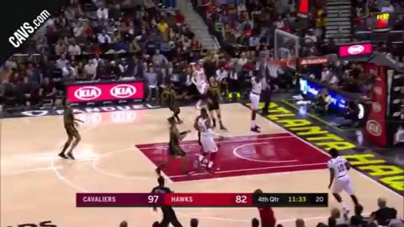 Jeff Green Throws the Hammer Down