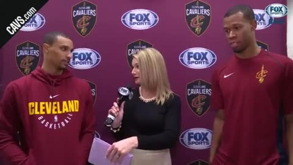 George Hill and Rodney Hood on Joining the Cavs