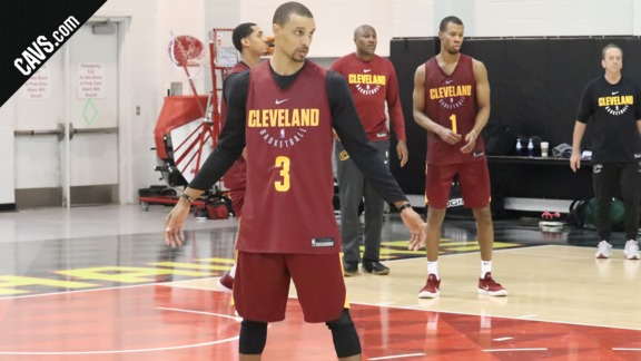 First Practice for the Newest Cavs