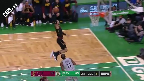 Clarkson with the Steal and Slam