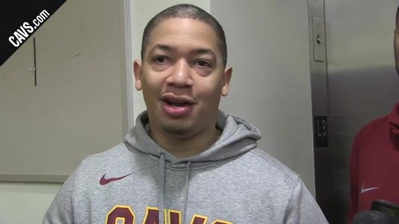 The Word from Practice with Coach Lue