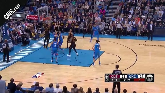 T.T. Finishes the Alley-Oop