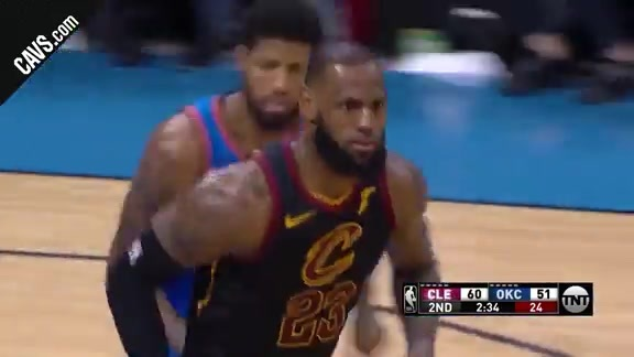 LBJ Spins and Slams