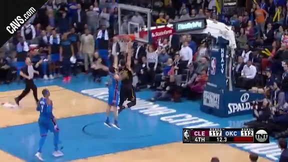 Featured Highlight: Swish to Larry Nance Jr. Seals the Deal