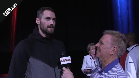 1-on-1 with Kevin Love