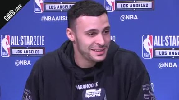 All-Star Saturday Media Availability: Larry Nance Jr. - February 17, 2018