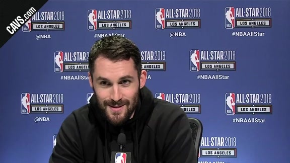 All-Star Saturday Media Availability: Kevin Love - February 17, 2018