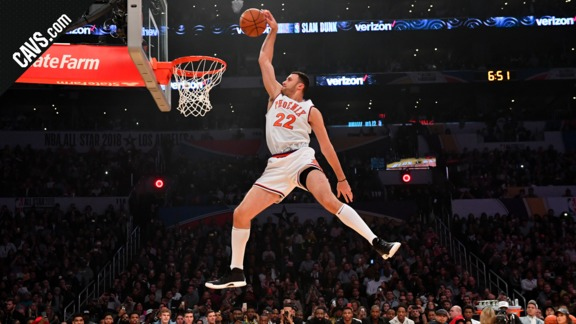 Nance Jr. Pays Tribute to Pops with First Dunk