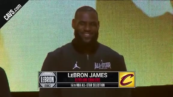 Kevin Love and LeBron James All-Star Intro