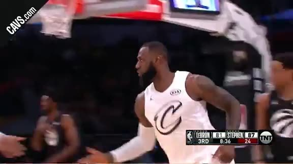 LBJ with the Fancy Finish